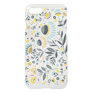 Geometric Garden Floral Pastel Pattern iPhone 7 Case