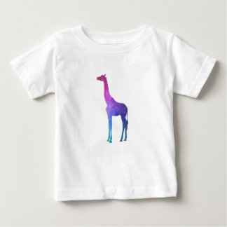 Geometric Giraffe with Vibrant Colors Gift Idea Baby T-Shirt