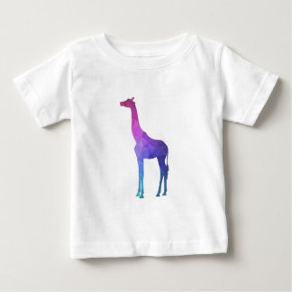 Geometric Giraffe with Vibrant Colors Gift Idea Baby T-Shirt