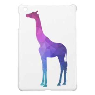 Geometric Giraffe with Vibrant Colors Gift Idea iPad Mini Case