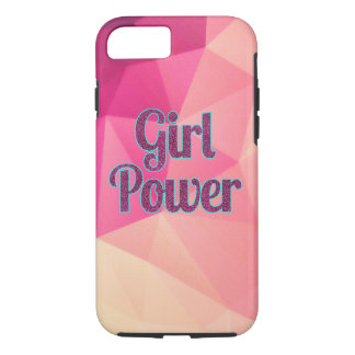 Geometric Girl Power iPhone Case