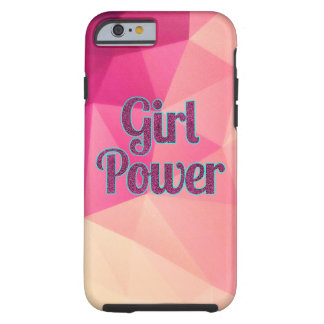 Geometric Girl Power iPhone Case