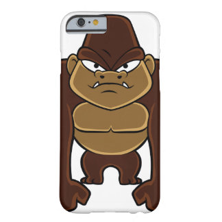 geometric gorilla.cartoon gorilla barely there iPhone 6 case