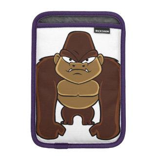 geometric gorilla.cartoon gorilla iPad mini sleeve