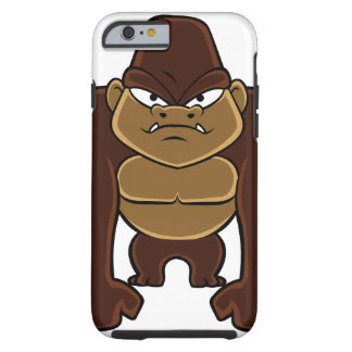 geometric gorilla.cartoon gorilla tough iPhone 6 case