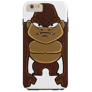 geometric gorilla.cartoon gorilla tough iPhone 6 plus case