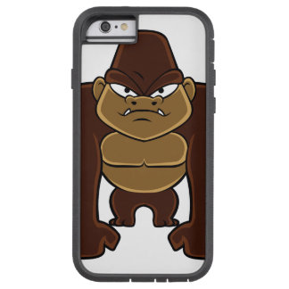geometric gorilla.cartoon gorilla tough xtreme iPhone 6 case
