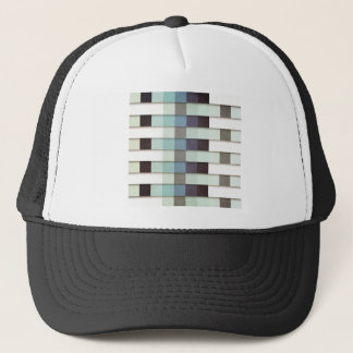 Geometric Grunge Graphic Trucker Hat