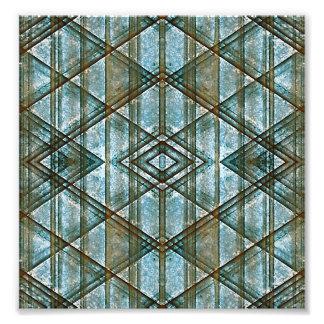 Geometric Grunge Pattern Photo