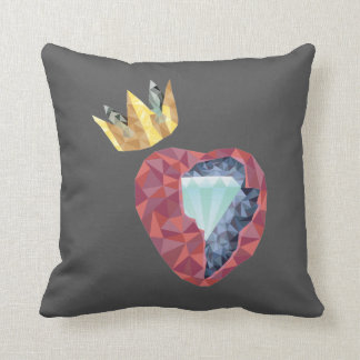 Geometric Heart Cushion