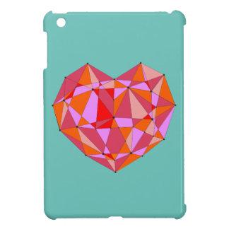 Geometric Heart iPad Mini Cover