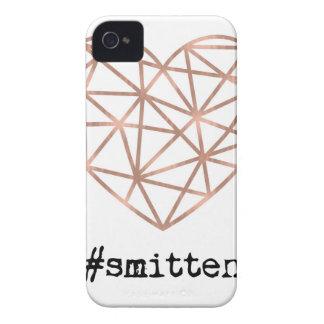 Geometric Heart Smitten iPhone 4 Cases