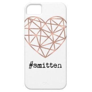 Geometric Heart Smitten iPhone 5 Cover