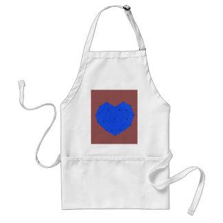 Geometric Heart Standard Apron