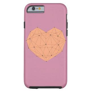 Geometric Heart Tough iPhone 6 Case