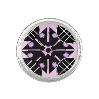 Geometric in Pink Ring