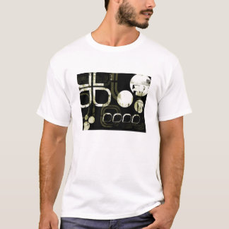 Geometric/Industrial Pattern T-Shirt