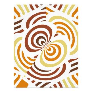 Geometric infinity 21.5 cm x 28 cm flyer