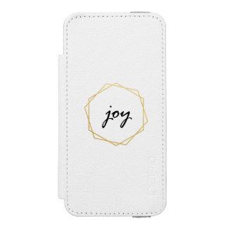 Geometric Joy Wallet Case Holiday Gift Incipio Watson™ iPhone 5 Wallet Case