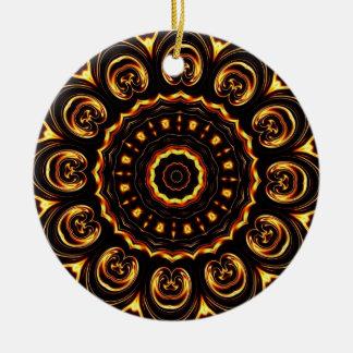Geometric Kaleidoscope 04 Christmas Ornaments