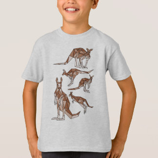 geometric-kangaroo-tshirt T-Shirt
