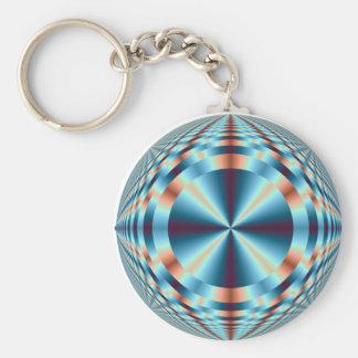 Geometric keychain design