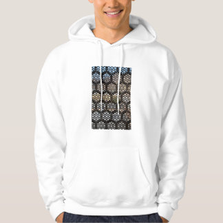 Geometric Lattice window, India Hoodie