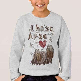 Geometric Lhasa Apso Sweatshirt