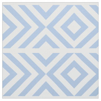 Geometric Light Blue and White Chevrons, Diamonds