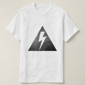 Geometric Lightning Bolt T-Shirt