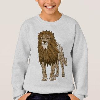 Geometric Lion Sweatshirt