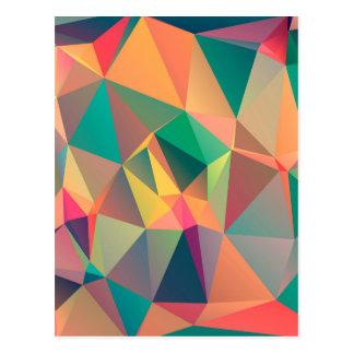 Geometric Lovers Postcard
