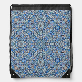 Geometric Luxury Ornate Drawstring Bag