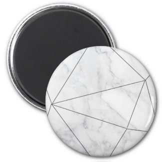 Geometric Marble Magnets