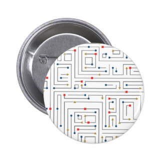 Geometric Maze Botons