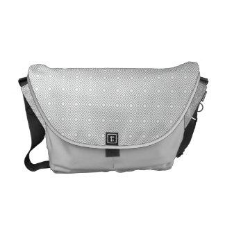Geometric Messenger Bag