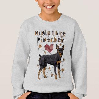 Geometric Miniature Pinscher Sweatshirt
