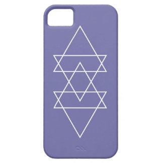 Geometric Modern Lavender Purple Minimal Triangle iPhone 5 Cases