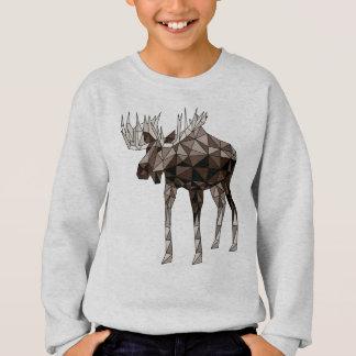 Geometric Moose Sweatshirt