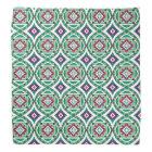 Geometric Moroccan Watercolor Seamless Pattern 4 Bandana