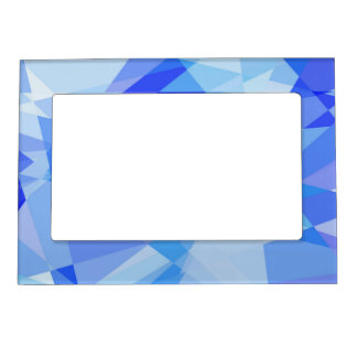 Geometric Mosaic Abstract #12 Photo Frame Magnet