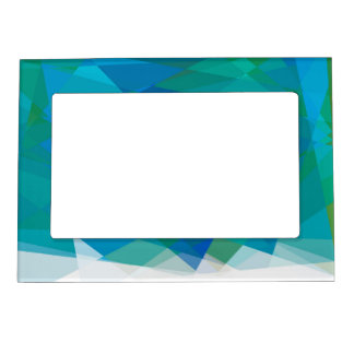 Geometric Mosaic Abstract #2 Photo Frame Magnet