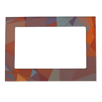 Geometric Mosaic Abstract #8 Photo Frame Magnet