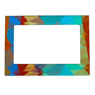 Geometric Mosaic Abstract Magnetic Photo Frames