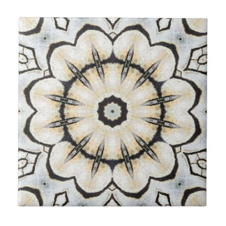 Geometric Mosaic Nature Inspired Ceramic Tile
