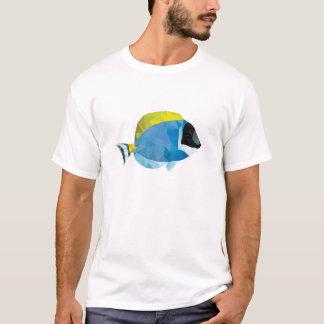Geometric Mosaic Powder Blue Tang T-Shirt