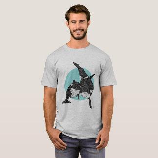 Geometric Orca T-Shirt