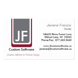 Geometric Pack Of Standard Business Cards