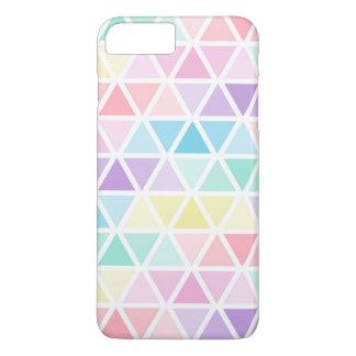 Geometric Pastel Colored Iphone7 Plus Case