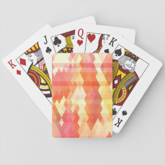 Geometric pattern 1 playing cards